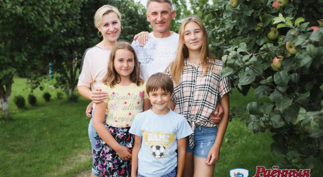 Родители и дети семьи Кунда: «Вместе мы — сила»