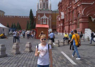 Победительница конкурса «Счастье в моих глазах» посетила Москву и стала еще счастливее
