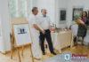 У Палацыку праходзіць выстава піцерскіх мастакоў Веры Прохаравай і Івана Чарнякевіча