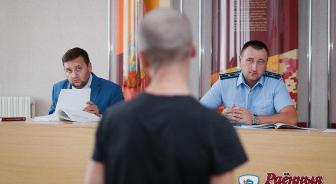 Суд Пружанского района провел выездные заседания