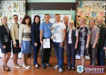 Три года подряд коллектив СШ №3 побеждает в районной спартакиаде