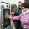В Заречье торжественно открыли мемориальный сквер в память о 28 земляках, которые не вернулись с войны
