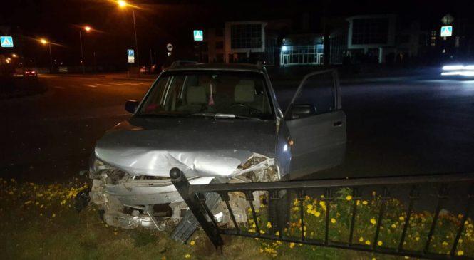 Две дамы не разъехались на перекрестке. Виновница ДТП была пьяна