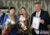 Малышка, которая родилась в Пружанах в Международный день мира, получила подарок от районной организации «Белорусский фонд мира»
