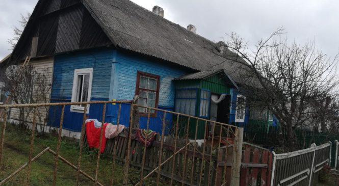 В Ружанах пенсионер спас пожилую соседку на пожаре