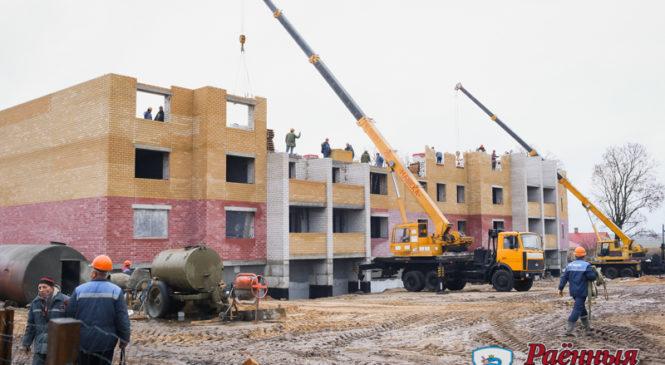 В скором времени 40 ружанских семей станут владельцами собственного жилья