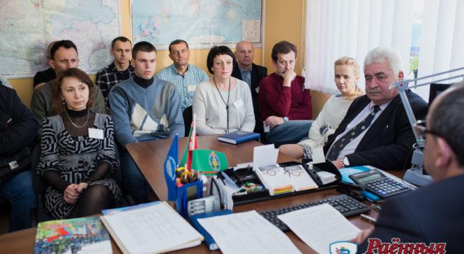 Председатель райисполкома М.Н. Крейдич провел встречу с работниками БТИ