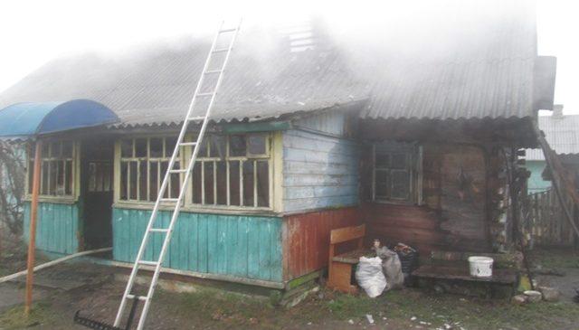 На пожаре в Щерчово погиб мужчина