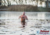 Мы познакомились с «моржом», который купается на Пружанском озере. Не желаете присоединиться?