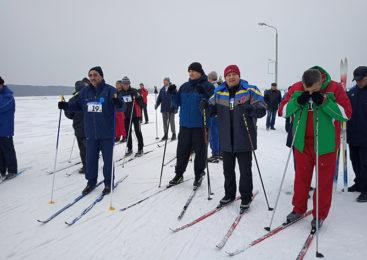 Команда Пружанского района приняла участие в областной спартакиаде «Брестская лыжня-2019». Есть медаль!
