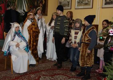У Музеі-сядзібе «Пружанскі палацык» прайшла дзясятая «Беларуская ялінка»