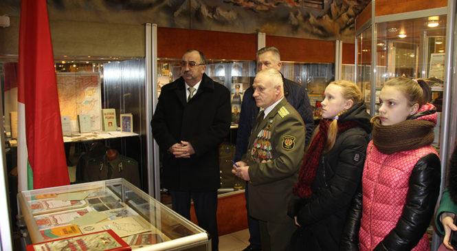 В Пружанах открылась комната боевой славы воинов-интернационалистов