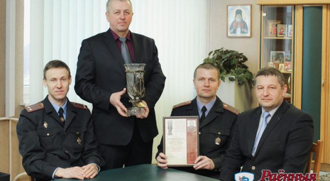 Пружанская милиция признана лучшей в области