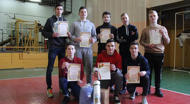 Ученики СШ №1 победили в спортивном конкурсе «А ну-ка, парни»