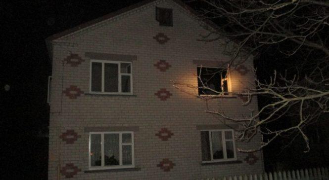 Сегодня ночью в Пружанах горел жилой дом