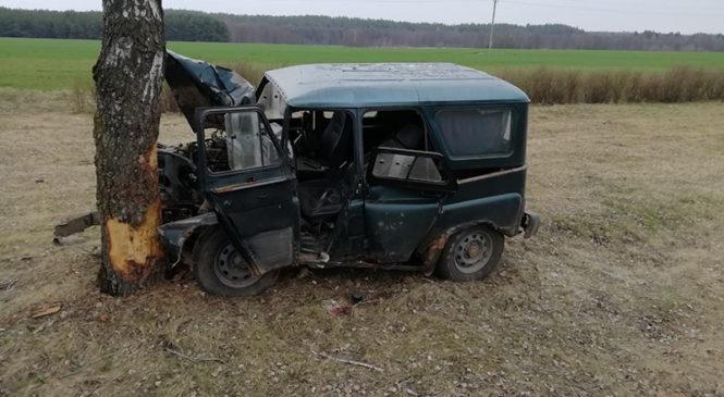Возле Ружан водитель потерял сознание и попал в ДТП