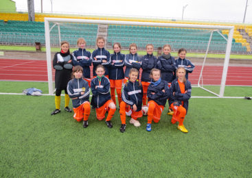 В Беларуси появилась футбольная лига для девочек до 13 лет. Пружанки в теме!