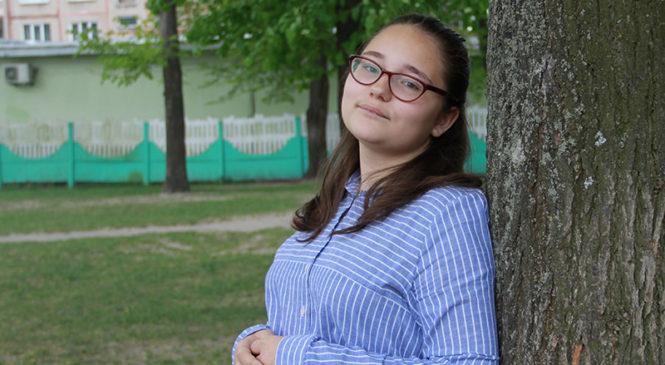 Ученица СШ №3 Полина Сидоренко заняла третье место на республиканском конкурсе сочинений
