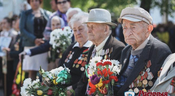 Фоторепортаж с празднования Дня Победы в Пружанах
