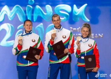 II Европейские игры: яркая церемония награждения победителей соревнований по легкой атлетике