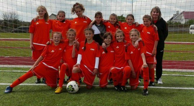 Юные пружанские футболистки заявили о себе на престижных республиканских соревнованиях