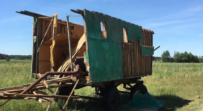 Грозовой фронт 1 июля повредил 440 га льна. «Сады Прибужья» пострадали от града