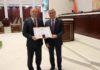 Ганаровая грамата Нацыянальнага сходу Рэспублікі Беларусь — для нашага дэпутата