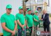 Коллектив ОАО «Великосельское Агро» первым в районе доработал тысячу тонн зерна и масличных семян рапса