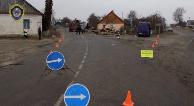 ДТП с участием лесовоза в Ружанах: расследование завершено