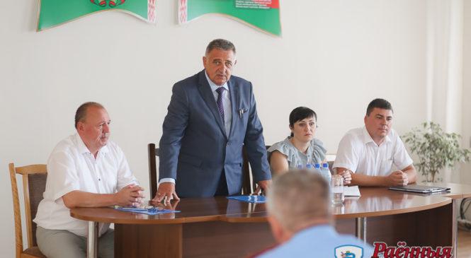 В рамках Единого дня информирования председатель райисполкома встретился с коллективом КУПП «Коммунальник»