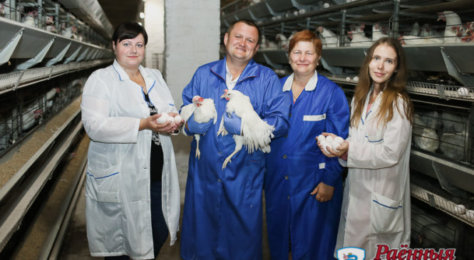 ОАО «Оранчицкая птицефабрика»: достижения создают люди