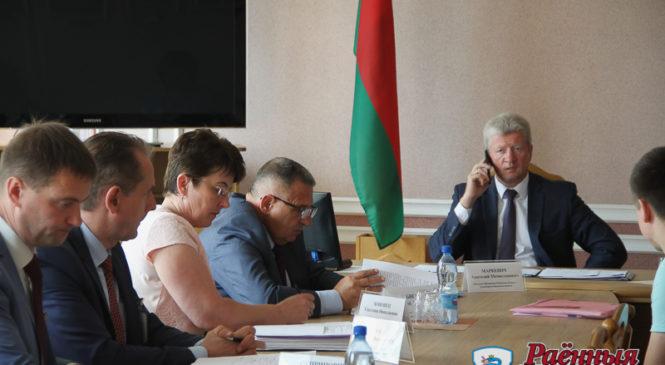 Помощник Президента Анатолий Маркевич провел прием граждан в Пружанах