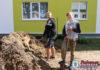 В благоустройстве Ружан принял участие студенческий отряд