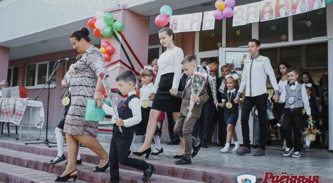 Ружанская средняя школа начала учебный год с новой спортивной площадкой и обновленными классами
