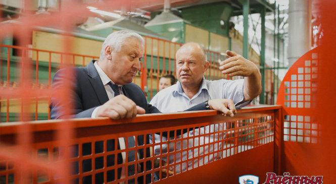 Заместитель премьер-министра посетил ОАО «Пружанский льнозавод»