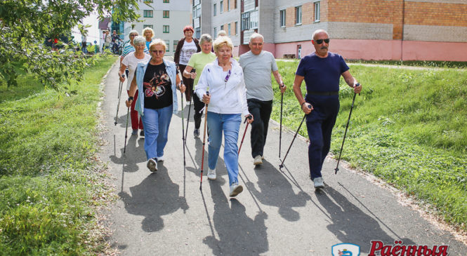 Впервые в Пружанах прошла спартакиада для людей «золотого» возраста
