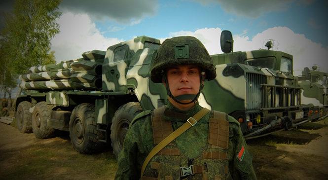 Пружанский воин на «Щите Союза – 2019»