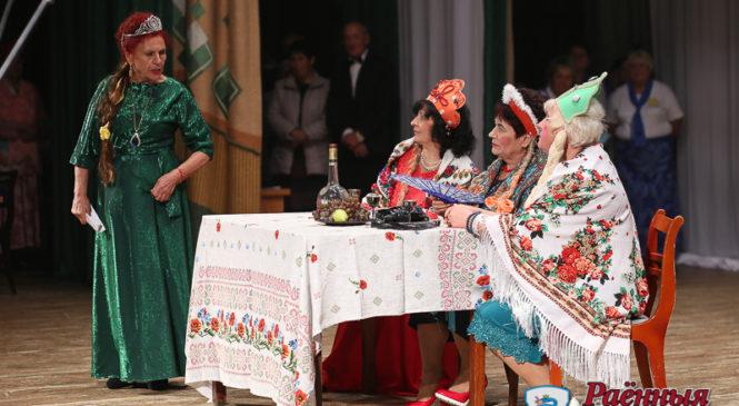 В Пружанах прошел первый фестиваль клубов пожилых людей