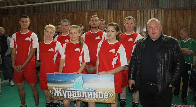 Команда ОАО «Журавлиное» победила в районной спартакиаде среди сельхозорганизаций