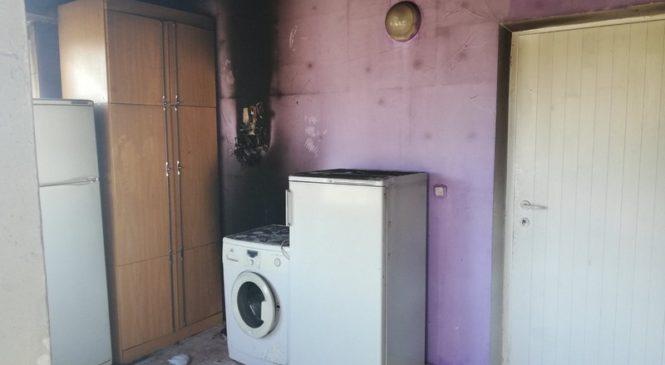 В агрогородке Лысково произошел пожар в жилом доме