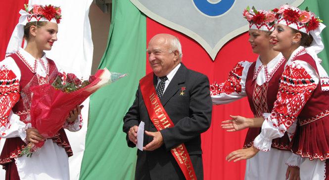 Легендарному председателю колхоза «Рассвет» Евгению Кудинову — 90!
