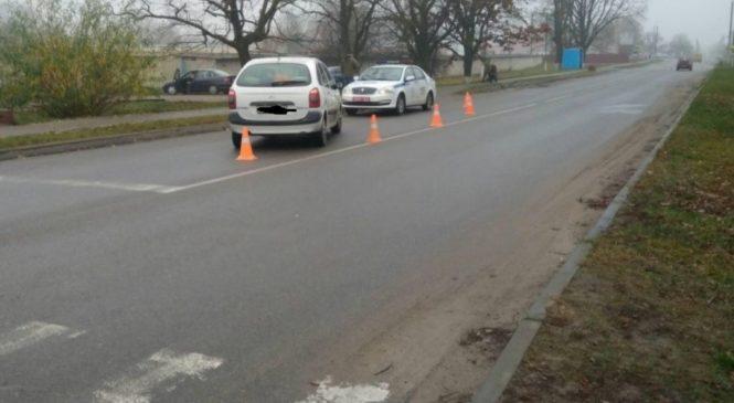 10-летняя девочка попала под колеса Citroen  на светофоре