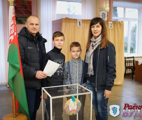 83% избирателей по Пружанскому избирательному округу №9 приняли участие в выборах