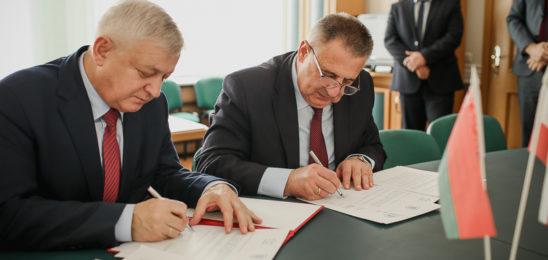 Пружаны  и Гайновка заключили соглашение о сотрудничестве