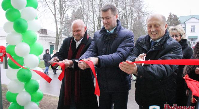 В Ружанах завершена реконструкция пищеблока больницы