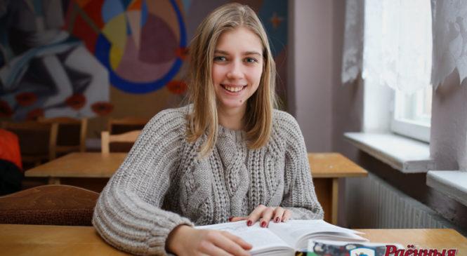 Учащаяся колледжа заняла второе место на областном конкурсе, а также получила приз зрительских симпатий