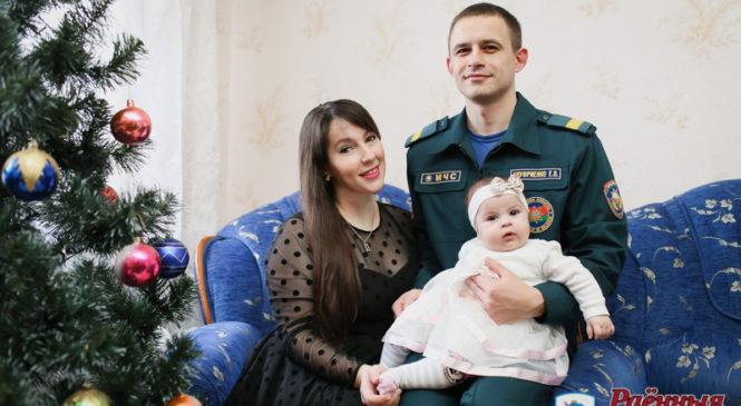 Дочь пожарного родила пожарному дочь. Интересная история Натальи и Евгения Ануфриенко