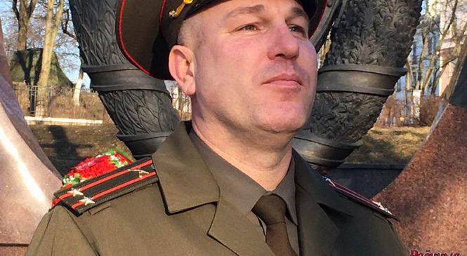 Знакомьтесь: сын офицера и внук офицера подполковник Кирилл Шевченко
