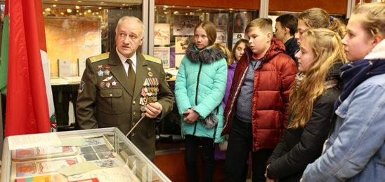Музей боевой славы отметил первый день рождения