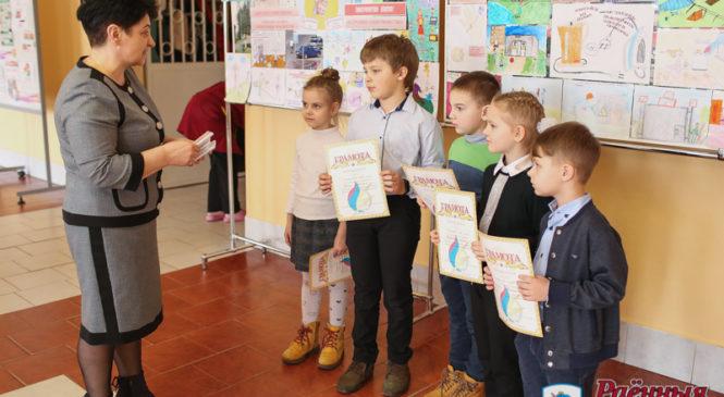 Ученики гимназии и СШ №1 приняли участие в конкурсе рисунков на тему электробезопасности